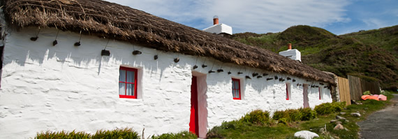 Cottage at Niarbyl